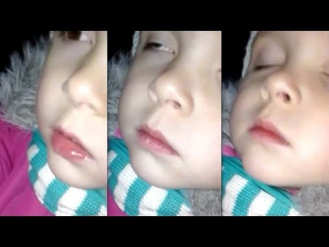Ребенок во сне выдает перлы, особенно в конце
