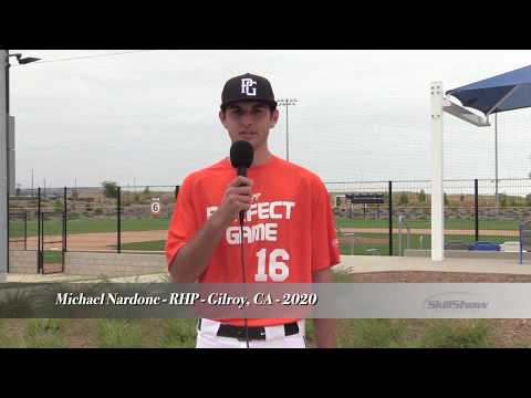 Michael Nardone - RHP - Gilroy, CA - 2020