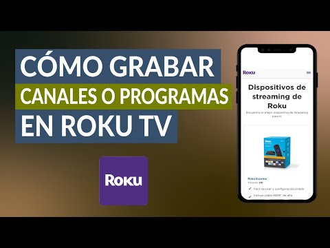Cómo Grabar y ver Canales o Programas en Roku TV ¡Muy Fácil!