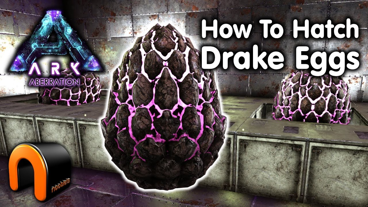 Ark How To Hatch Rock Drake Eggs Aberration Youtube