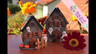Erstellen Sie eine Miniatur-Haus für Halloween Polymer clay