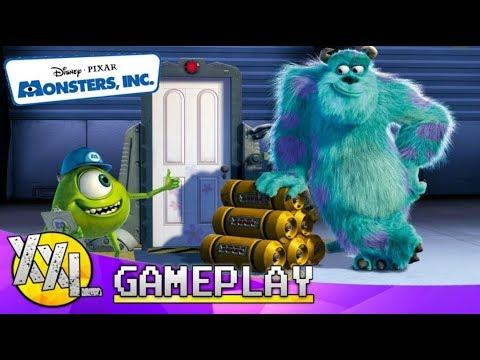 Monsters Inc. Schrik Eiland - XXLGAMEPLAY