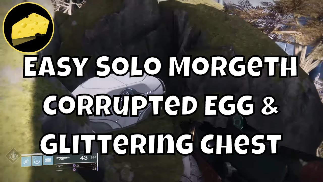 Solo Morgeth Corrupted Egg and Glittering Key Chest - Wish Ender - Cursebreaker & Chronicler Guide
