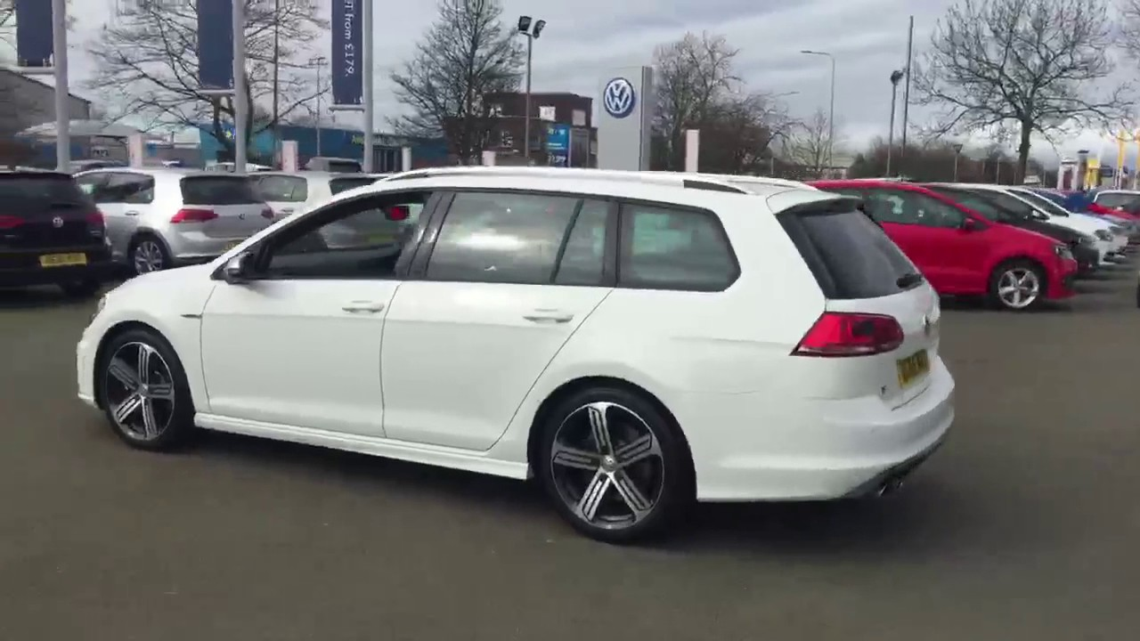 Dg66nxt Volkswagen Golf R Estate Dsg Crewe Vw Youtube