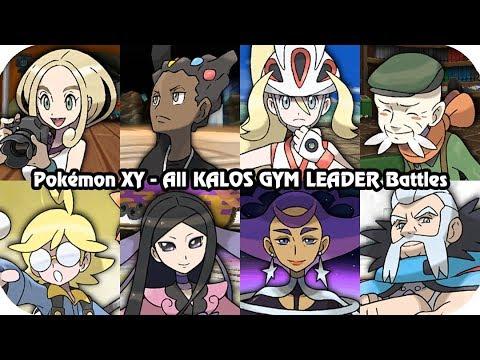 Pokémon X/Y -  All Kalos Gym Leader Battles