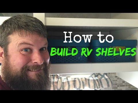 how to build shelves for your rv cabinets youtube. Black Bedroom Furniture Sets. Home Design Ideas