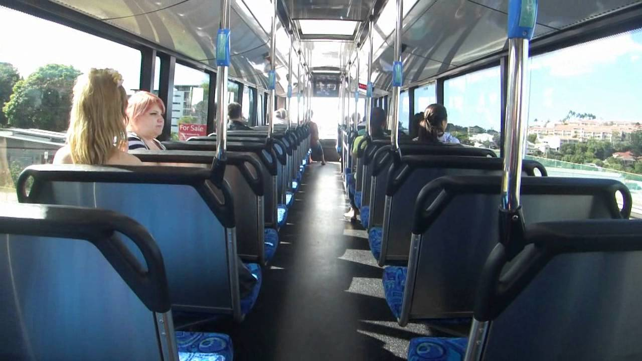 Bustech Cdi Australian Double Decker Bus Youtube