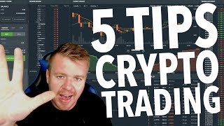 5 Tips For Crypto Currency Trading!