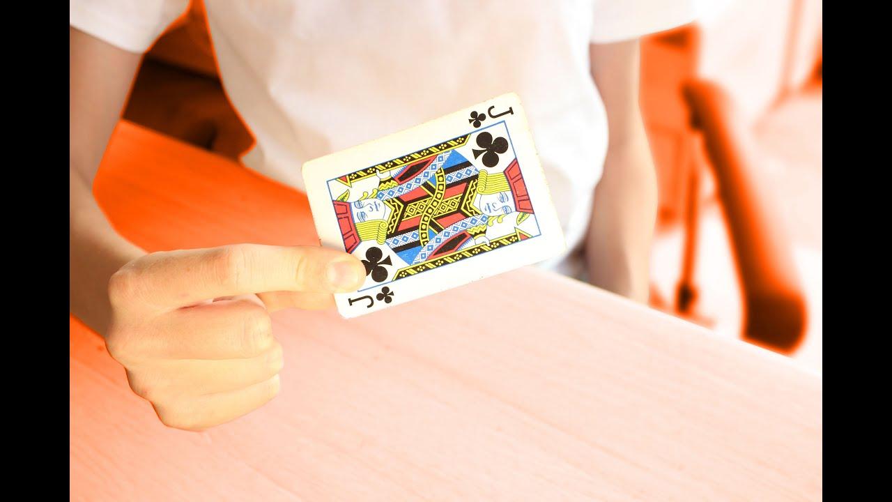 tour de magie carte qui disparait explication
