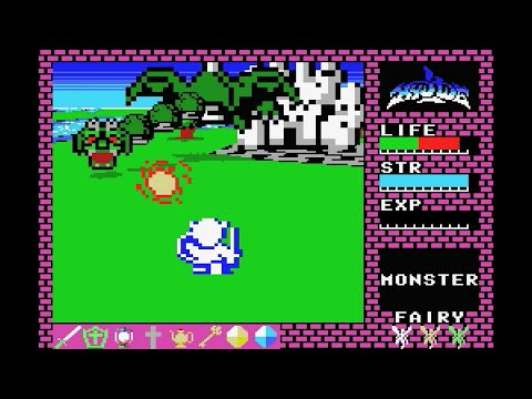 VIRTUAL HYDLIDE Based On The MSX Version