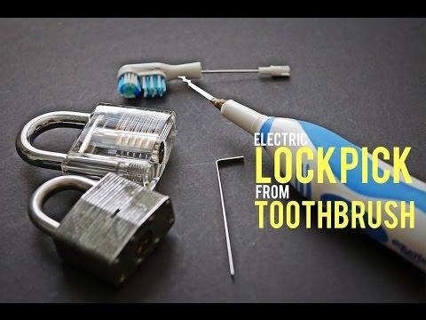 Pick A Door Lock With Electric Pick Gun Doovi