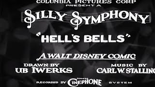 Hell's Bells (1929) Silly Symphony