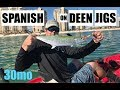 Spanish Mackerel on Deen Jigs - Perdido Key Florida
