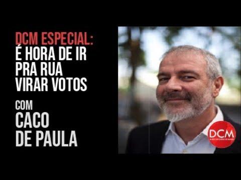 DCM ESPECIAL — Caco de Paula conversa com o cientista politico ALBERTO CARLOS ALMEIDA