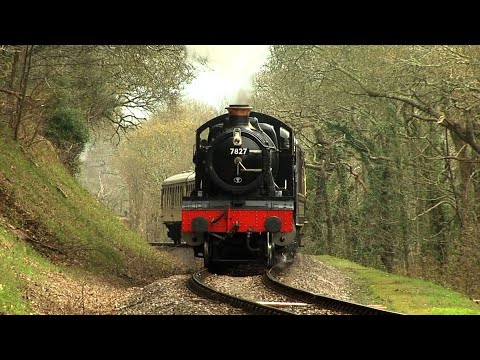 Paignton to Kingswear and back with 7827 Lydham Manor