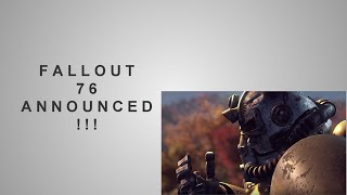 ♦ Fallout 76 Announced By Bethesda! | Star Wars: Battlefront II Gameplay