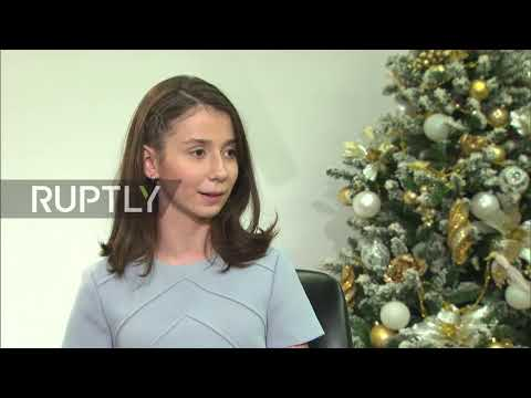 Russia: Dream comes true as girl with Devic's disease interviews Putin