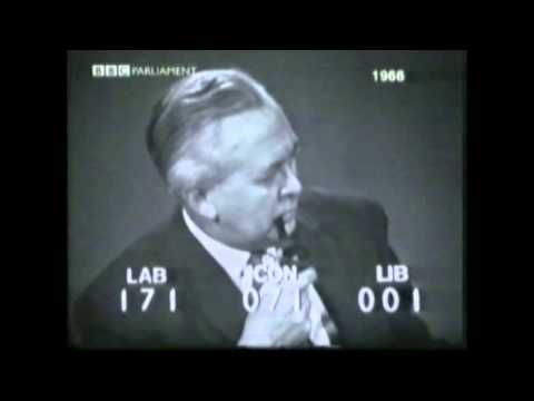 The 1966 General Election : 2330 GMT - 0030 GMT