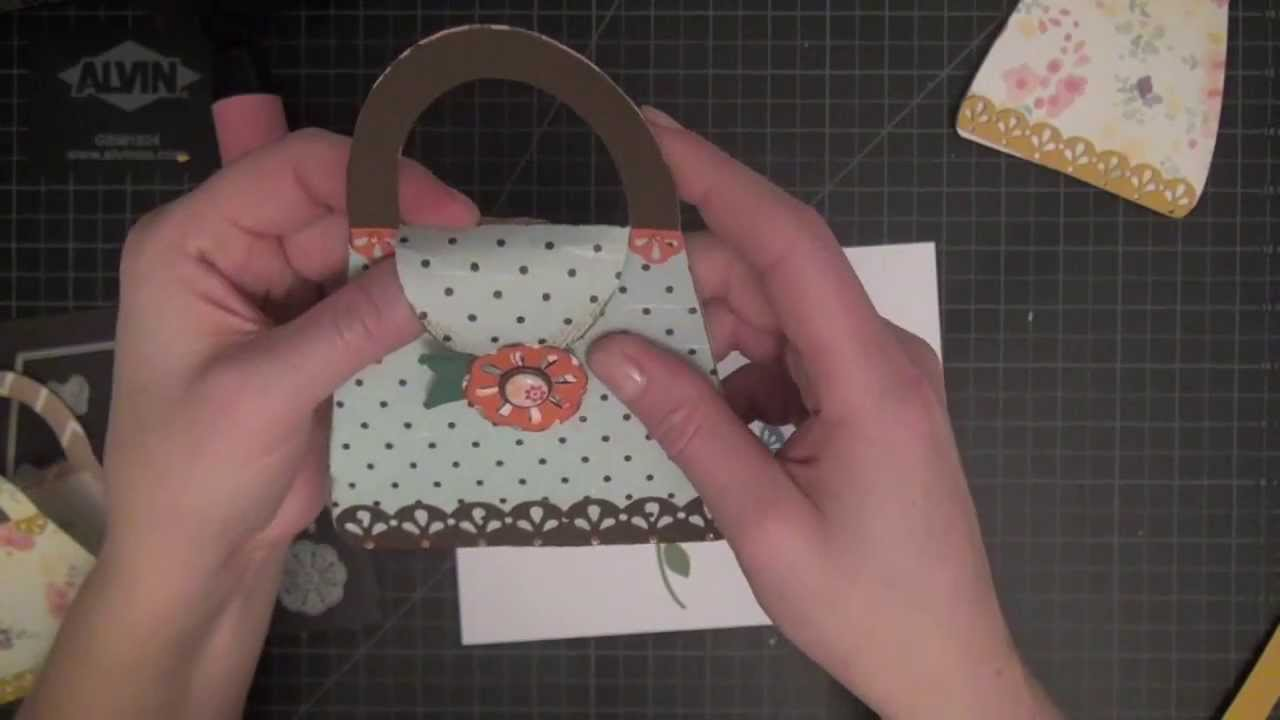 How To Make Easy Purse Cards