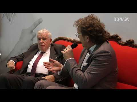 Logistik-Kongress 2017: Klaus-Michael Kühne auf dem Roten Sofa der DVZ