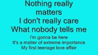 Teenage Love Affair - Alicia Keys with Lyrics