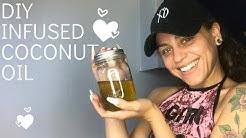 DIY CBD infused coconut oil in instant pot