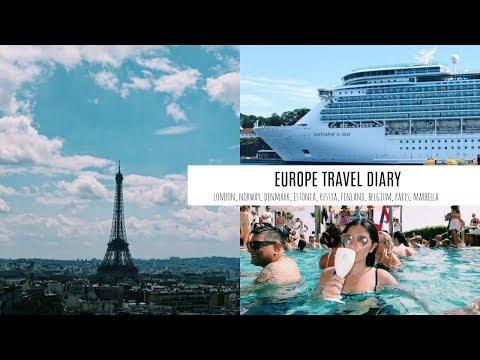 EUROPE TRAVEL DIARY | London, Northern Europe, Paris & Marbella