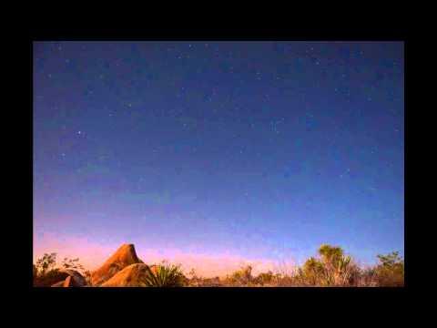 DESERT STARS TIME LAPSE