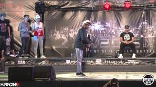 SLIM BOOGIE  VS MOFAK  [ Semifinal-2 ] - HURRICANES BATTLE-ISM 2015 TAIWAN & POPPIN 1ON1 SIDE