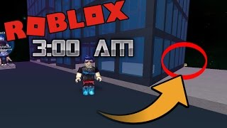 Do NOT play Roblox at 3:00AM!!!!!! (SCARY) [DON'T TRY THIS]