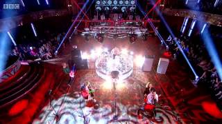 McBusted - Air guitar LIVE - First live performance - Strictly Come Dancing