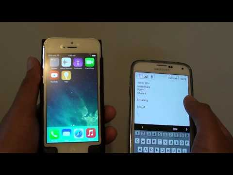 Can You Transfer Files Between Android and iPhone / iPad / iOS Via Bluetooth