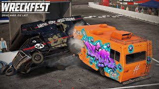 Trying To Win The Race | Wreckfest #43