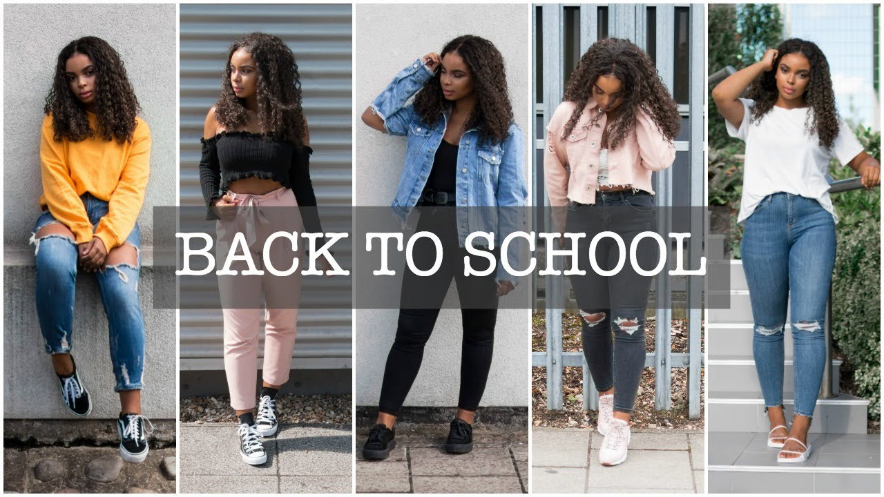 2380191c4ce BACK TO SCHOOL LOOKBOOK - COLLEGE AND UNIVERSITY OUTFITS - YouTube