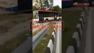 'Reckless' RapidKL bus driver in viral video suspended
