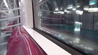 Full journey on the Circle Line Alstom Metropolis C830 from Dhoby Ghaut to Harbourfront