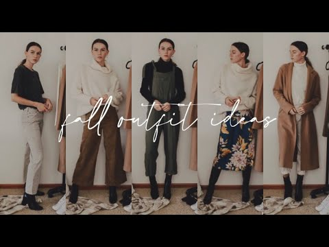 [VIDEO] - 10 casual fall outfit ideas | fall lookbook ? 3
