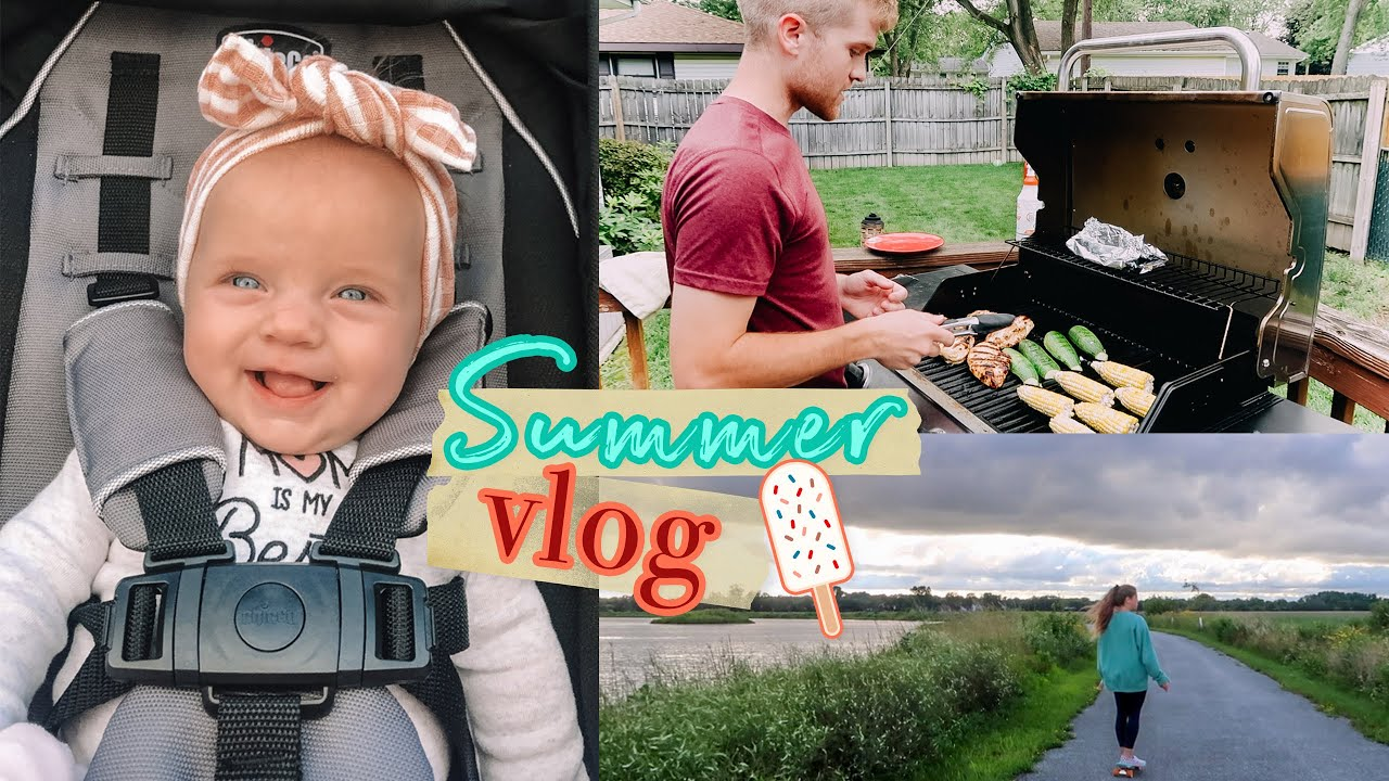 SUMMER WEEK IN MY LIFE!! Lots of cooking, ice cream,going on walks,shopping, & shoutouts!! :)