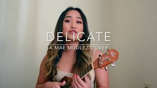DELICATE Taylor Swift ukulele cover
