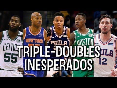 7 triple-doubles INESPERADOS na temporada 2017-18 da NBA!