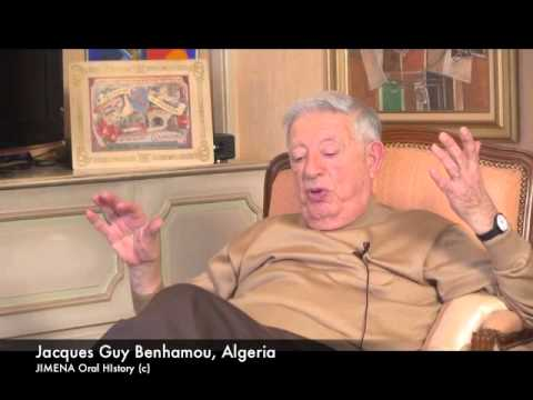Ben-Gurion Archives and JIMENA: Jacques Benhamou of Algeria