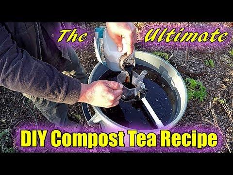 The ULTIMATE DIY Compost Tea Recipe!!!