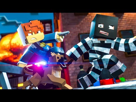 COPS and ROBBERS !? || Minecraft Daycare Academy