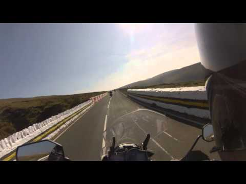 Snaefell Mountain Course - Isle of Man TT 2015 - KTM 1190 Adventure - second pass