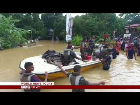 Latest on Sri Lanka floods from the BBC Newsroom