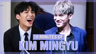 10 MINUTES OF SEVENTEEN MINGYU'S FUNNY MOMENTS