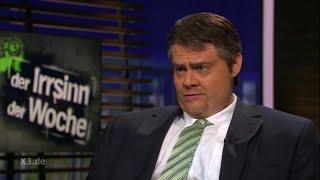 Christian Ehring im Gespräch mit Sigmar Gabriel (Thema: TTIP)