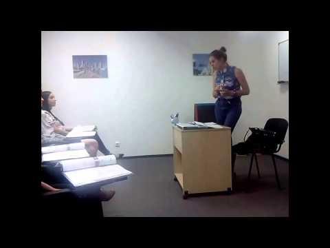 Урок английского языка в группе для начинающих (Beginners) Los Angeles English School