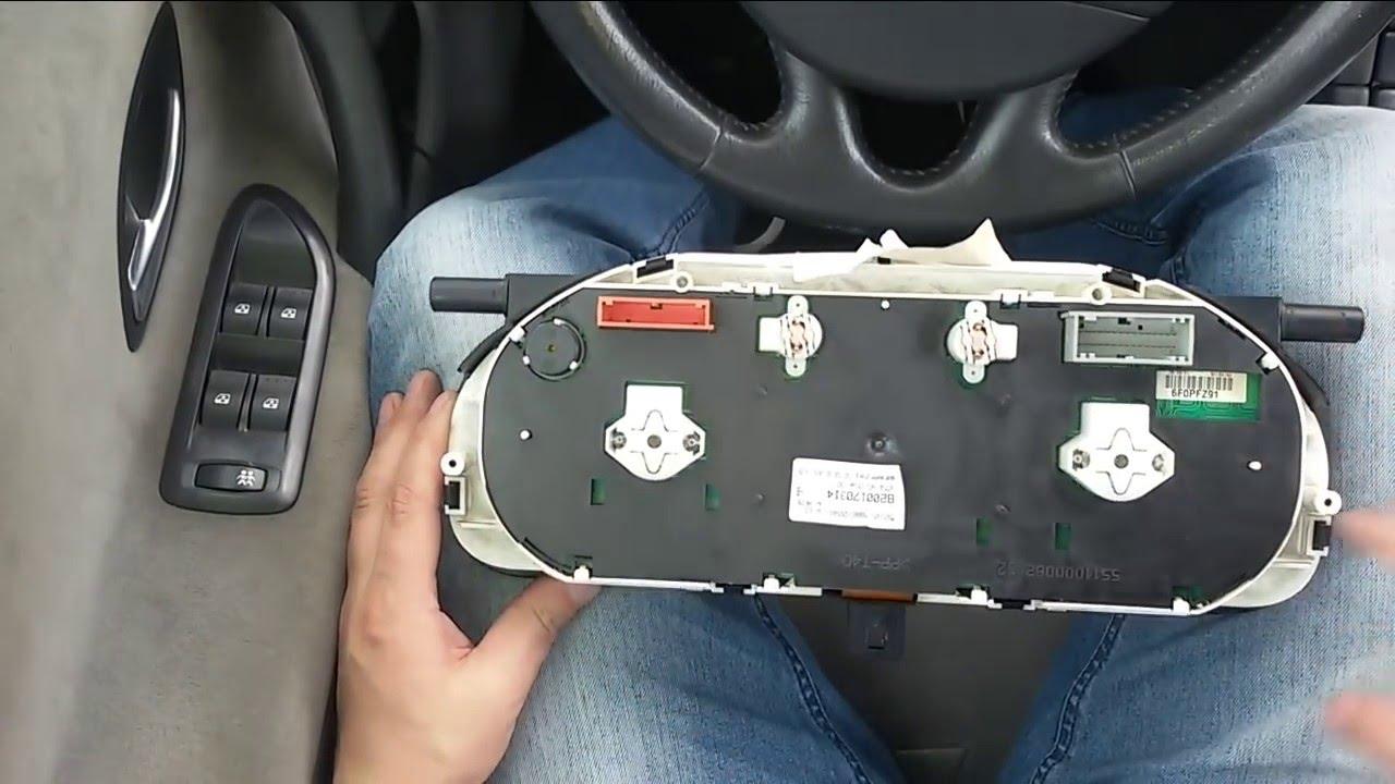 Renault Laguna 2 Demontaż Licznika