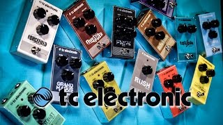 New TC Electronic pedals -  unboxing all 13